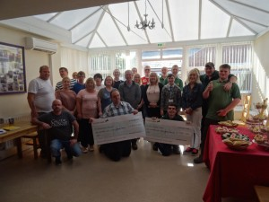 Charity Presentation at Goldcrest House