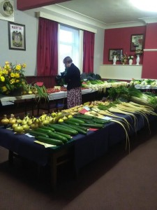 PRIZE VEGETABLES ARE A WINNER FOR CHARITY
