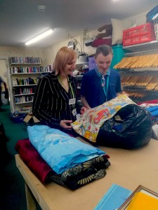 Goldcrest House and Dove House Hospice shop in Goole